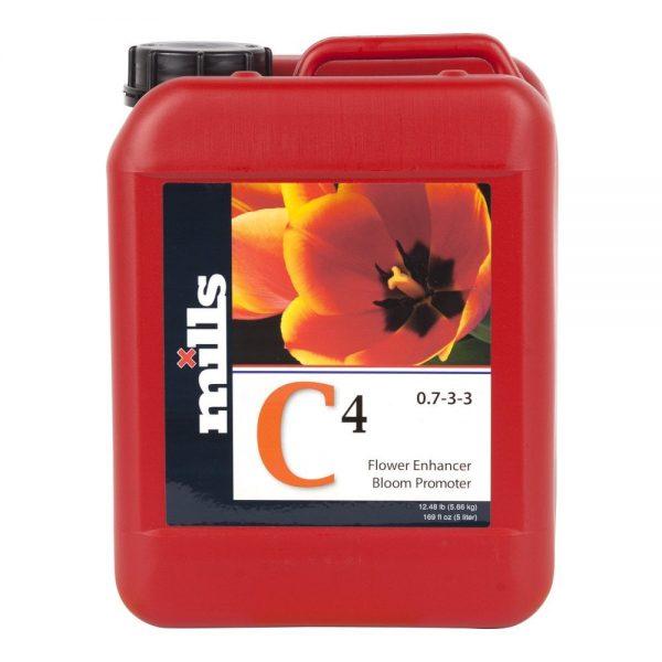 Mills C4 Organo Mineral Fertilizer 5 Litre