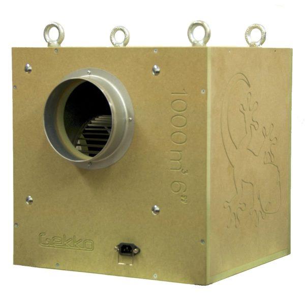 Gekko Acoustic Box Fan 6inch 150mm 1000 M3hr