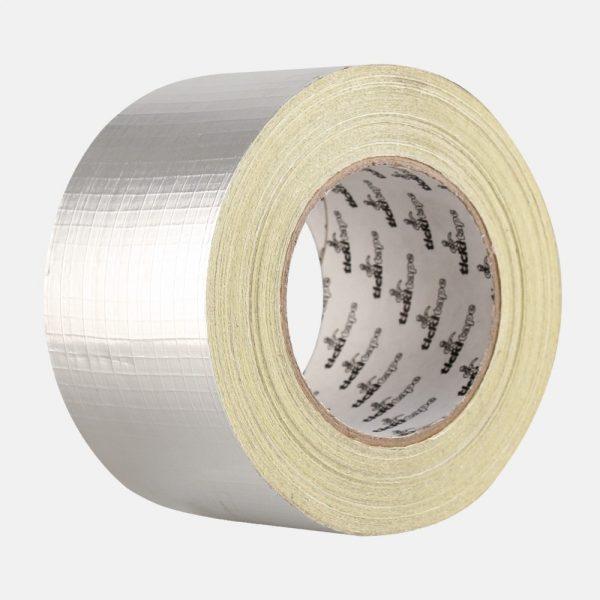 Silver Weave Tape