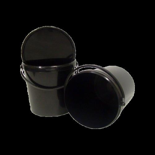 Black Bucket 20l